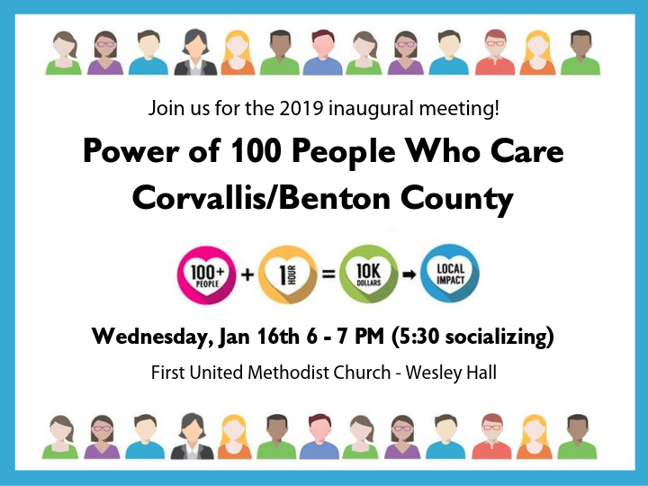Power of 100 People Who Care