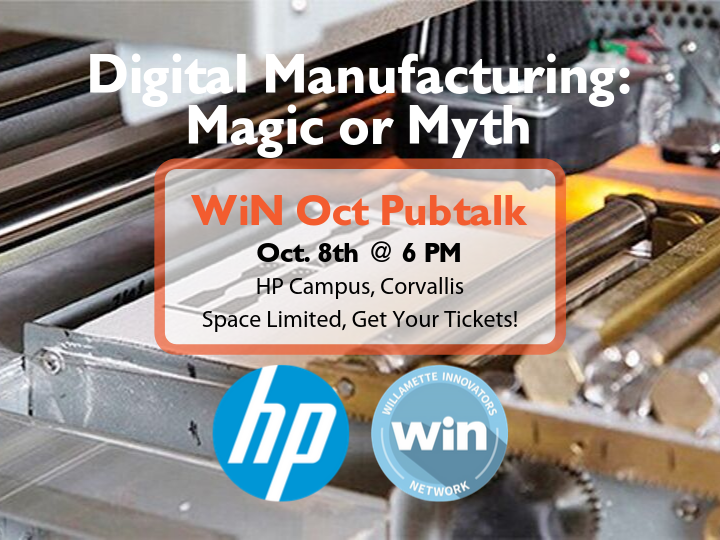 Digital Manufacturing: Magic or Myth - WiN PubTalk