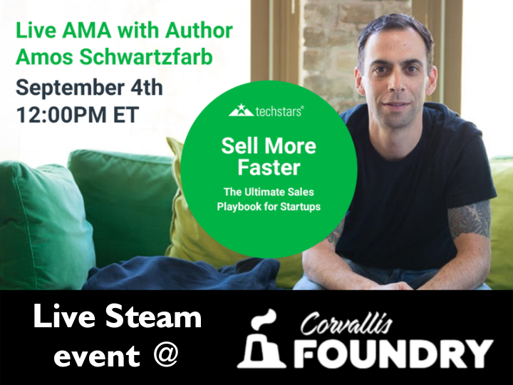 Live Stream with Author Amos Schwarzfarb